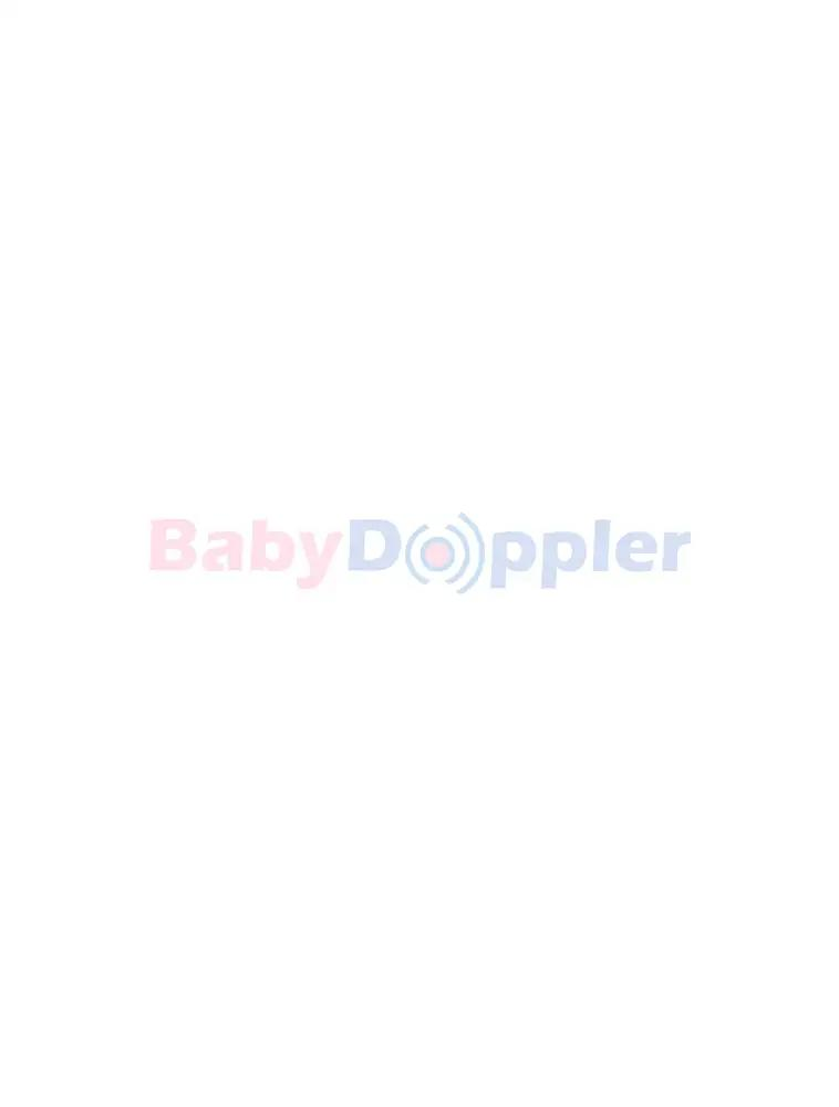 Soon to be mother using pregnancy monitoring gadget by babydoppler.com fetal doppler