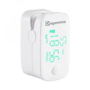 Black Finger Pulse Oximeter DP100 by Dagamma