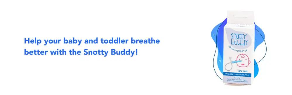 Snotty Buddy Nasal Aspirator by Baby Doppler